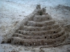 Castillo de arena en Akumal