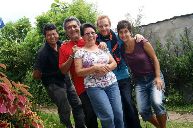 00 Con Atilio, Rosario y Eduardo