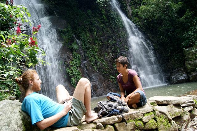 15 Viajero sustentable en cascadas de Don Juan