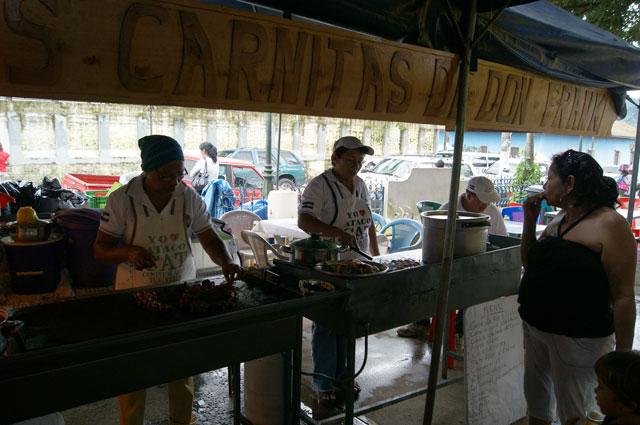 22 Feria gastronomica Ataco