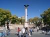Plaza en el centro de Aguascalientes