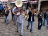 Banda en las calles de Angahuan