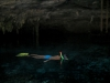 Eli snorkeleando