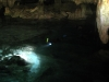 Saliendo de la cueva de los murcielagos