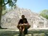 18 Eli y Ale en Calakmul