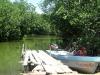 01. El embarcadero de llegada a Chacahua
