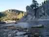 El río de la cascada