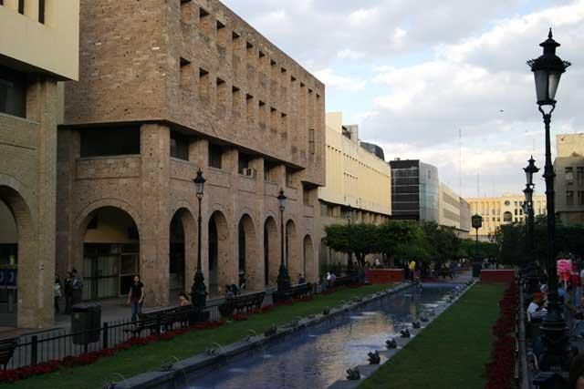 El centro colonial