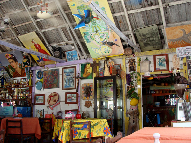 03 Restaurante en Holbox