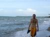 01 Caminando en la playa de Hokpkins