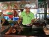 10. Carne en la feria gastronomica de Juayua