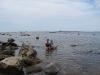 01 nadando en la marea baja