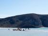 Diminnuta isla formada por la marea baja