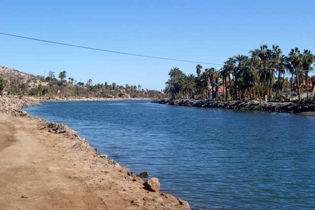 El río llegando al mar