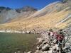 Más ciclistas en el Nevado de Toluca
