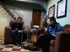En la casa de huéspedes con Francisco el fránces
