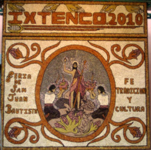 05. Mural de granos de maiz