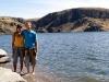 En la presa Jocoqui