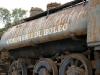 Antigua locomotora en Mesa Francia