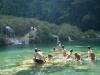 14. turistas nadando