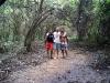 09 Eli, Ale, Dani, camino al Pueblito