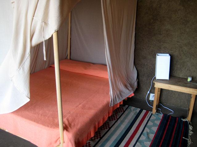 11. El interior de un cuarto