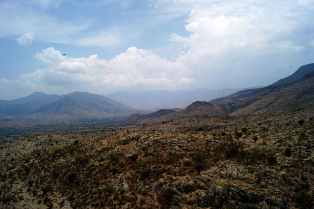 27. Paisaje de los valles centrales