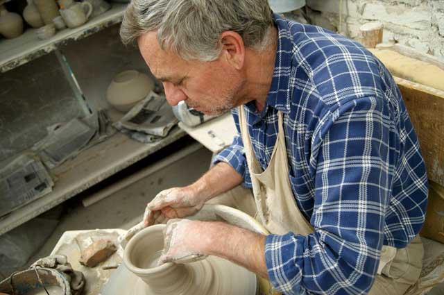 Moldeando un vaso