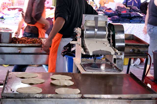 Tortillas modernas