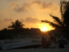 06. Atardecer en  la playa de Tulum.