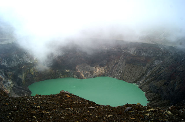 12 Crater del volcan Santa Ana