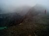 14 Caminando en las paredes del volcan Santa Ana