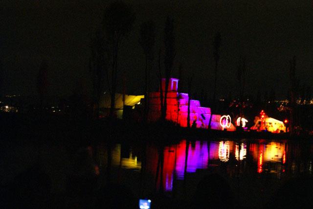10 Representacion de la LLorona en Xochimilco