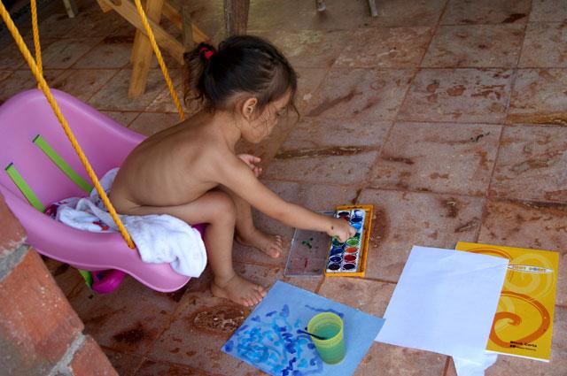 12 Ceiba pintando