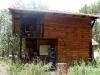 Cabaña de voluntarios en el Bosque Village