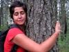 Eli abrazadora de árboles