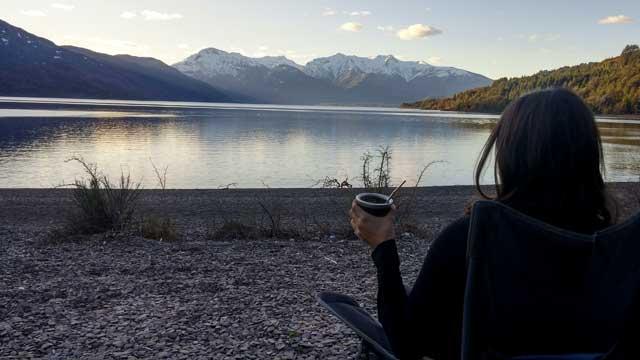 Atardecer en el Lago Futalaufquen