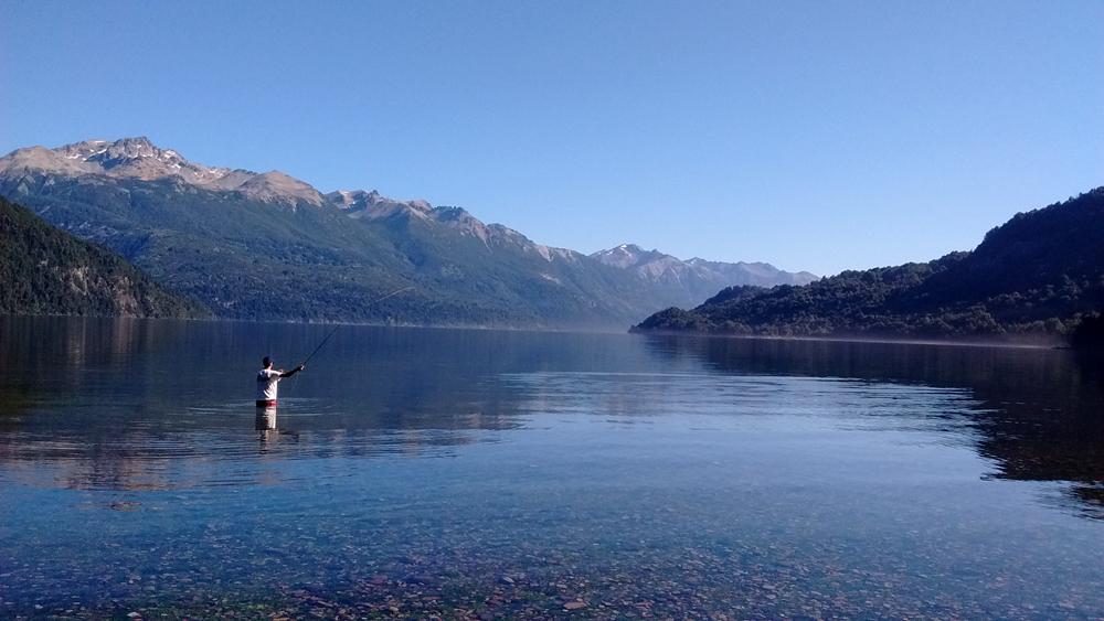 Fly Fishing en Lago Rivadavia