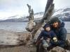 Cascada Irigiyen en invierno